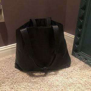 Lululemon Black Tote Bag